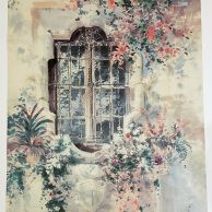 """Spanish Window"" (Limited Edition Archival Hand-Retouched Print)"