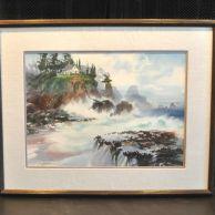 david solomon watercolor painting