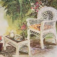 Wicker Chair by David Solomon